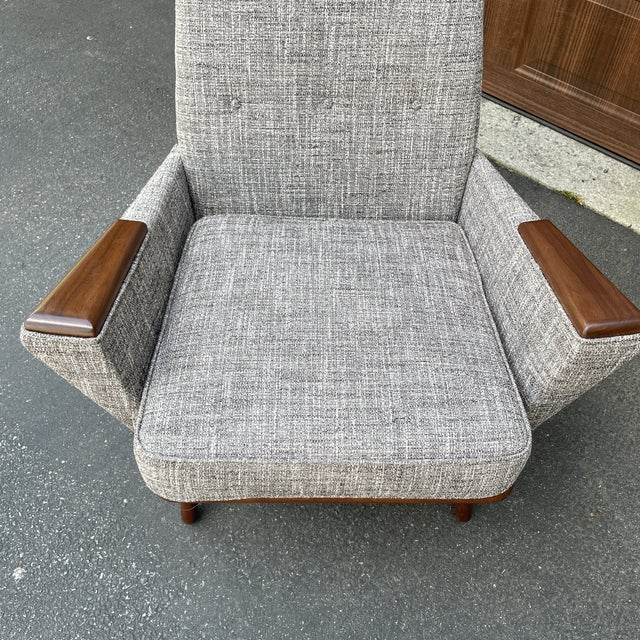 Adrian Pearsall Mid 20th Century Lounge Chair Attributed to Adrian Pearsall For Sale - Image 4 of 6