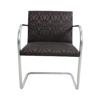 Replica Knoll Brno Tubular Regis Raven Side Chair For Sale