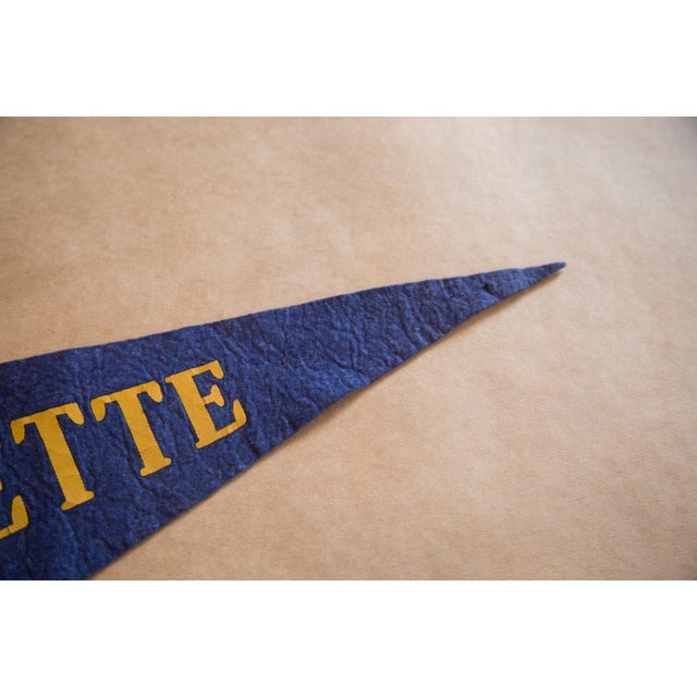 Traditional Marquette Felt Flag For Sale - Image 3 of 5