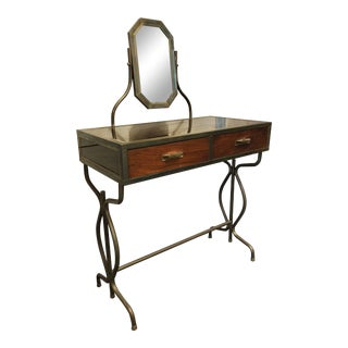 French Midcentury Vanity Table For Sale