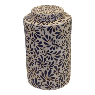 Modern Ceramic Covered Jar For Sale