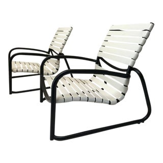 White Tropitone Sand Chairs - a Pair For Sale