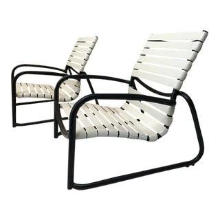 White Tropitone Sand Chairs - a Pair