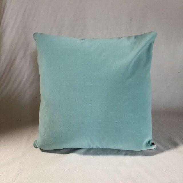 By Kim Salmela , a 20x20 pillow in designer fabrics. Double faced, knife edge finish, hidden zipper closure and extra full...