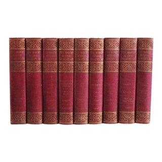 Antique Shakespeare Books - Set of 9