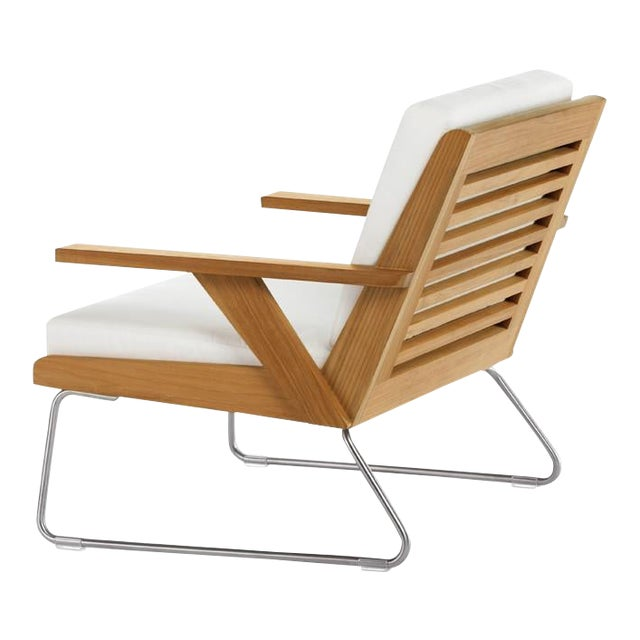 Summit Furniture Boomerang Lounge Chair For Sale