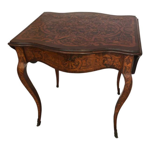 French Drop Leaf Table For Sale