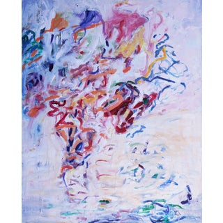 """Original Abstract """"Loose Ends"""" Painting by Laurie MacMillan For Sale"""