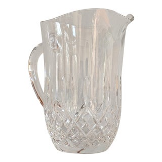 Vintage Waterford Cut Crystal Pitcher For Sale