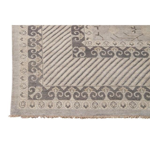 21st Century Modern Kohtan Wool Rug For Sale - Image 9 of 13