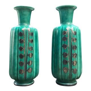Argenta Petite Vases - A Pair