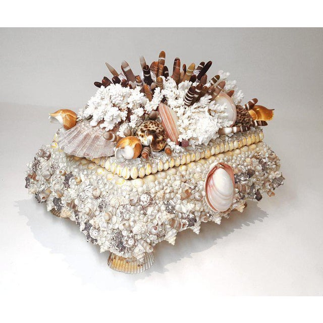 This one of a kind Jewelry Box was handmade by a local Texas artisan for their private collection. No expense was spared...