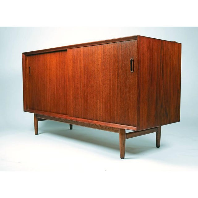 Arne Vodder for Sibast teak cabinet refreshed in Danish teak oil. A very useful size. It would work well as a small...