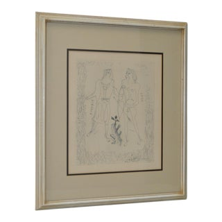 "Georges Braque ""Eurybia and Eros"" Etching c.1950"