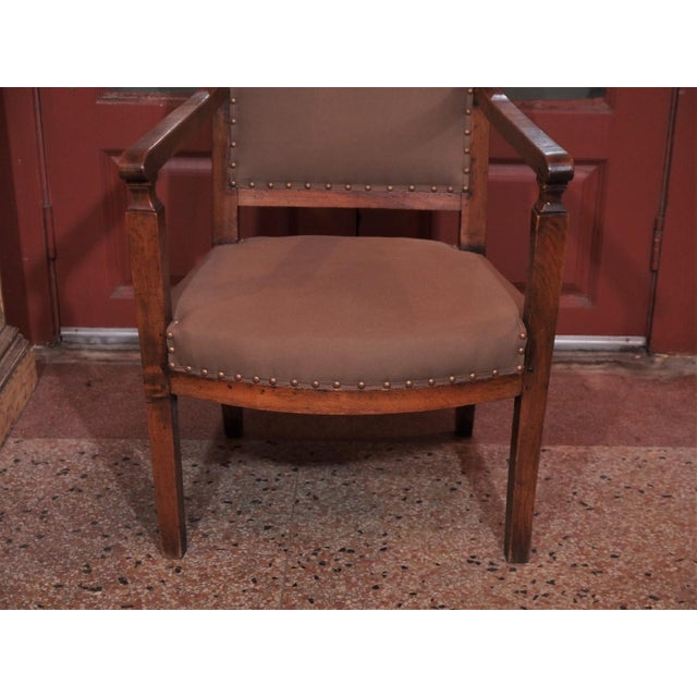 19th Century Directoire Style Armchairs - Pair - Image 6 of 6