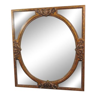LaBarge Italian Rococo Gilt Carved Mirror For Sale
