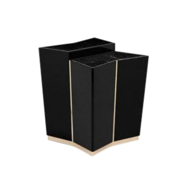 Stone Beyond Side Table From Covet Paris For Sale - Image 7 of 7