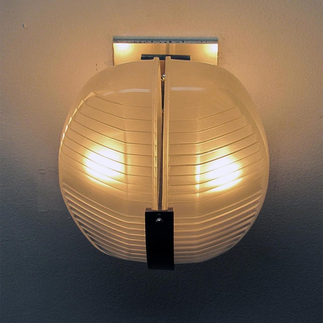 Pair of Vico Magistretti Wall Lights For Sale - Image 10 of 11