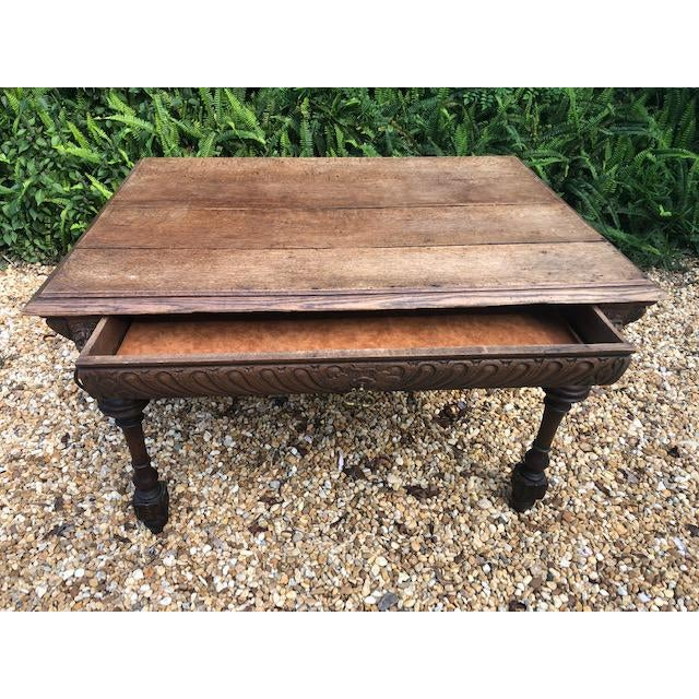 Mid 19th Century 19th Century Center/ Library Table For Sale - Image 5 of 9