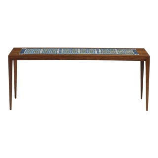 1960s Scandinavian Modern Rosewood Coffee Table For Sale
