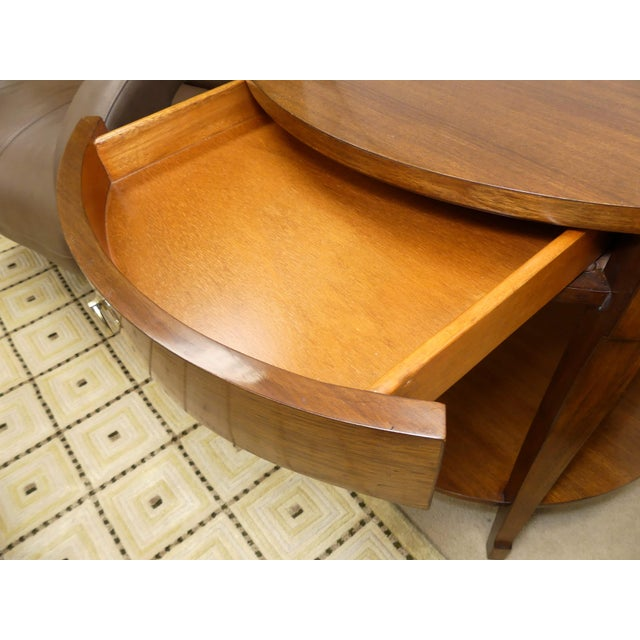 Wood Barbara Barry Skirted Accent or End Table For Sale - Image 7 of 9