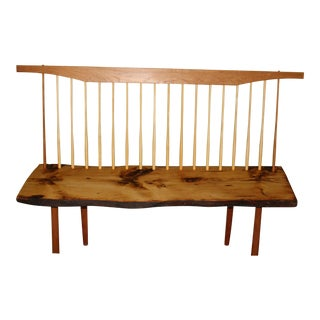 Live Edge Entryway Bench For Sale