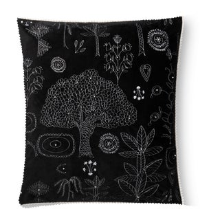 """Justina Blakeney X Loloi Black 22"""" X 22"""" Cover with Down Pillow"""