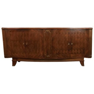 1930s Vintage Palatial Art Deco Gaessiar Ebenistes French Sideboard