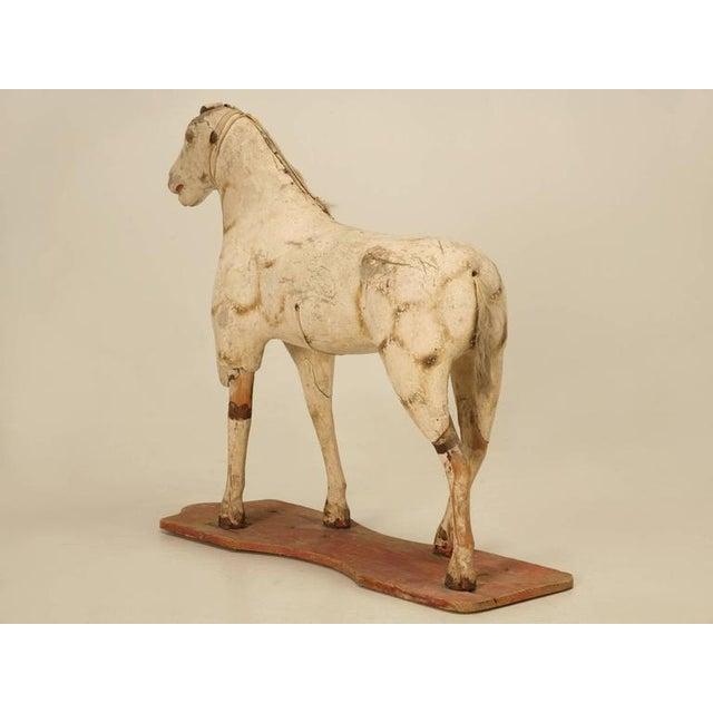 Antique Child's Papier Mâché Horse - Image 3 of 10