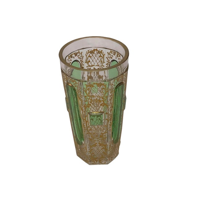 Glass Small Moser Beaker For Sale - Image 7 of 7