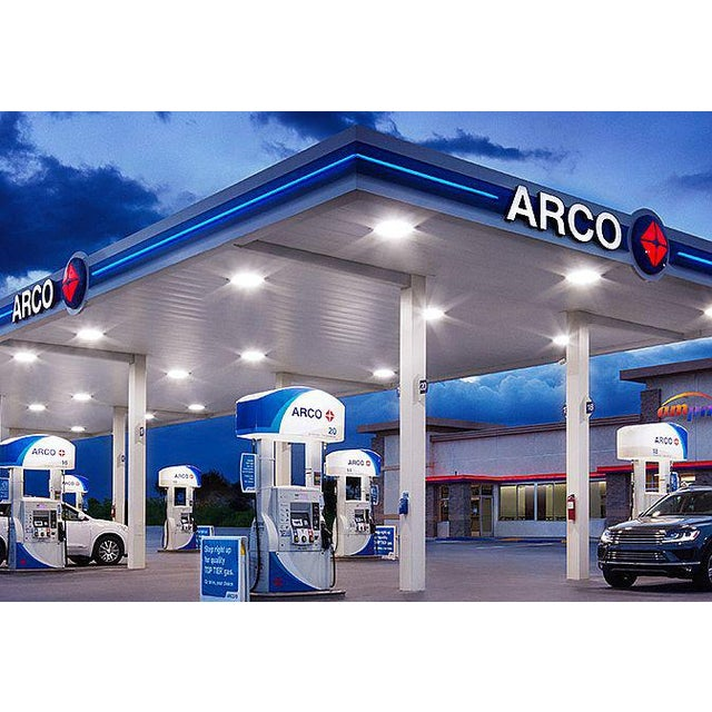 Arco Gas Station Logo Oil Lighting Sign For Sale - Image 10 of 12