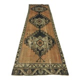 Image of 1960s Turkish Anatolian Antique Runner Rug - 2′11″ × 11′5″ For Sale