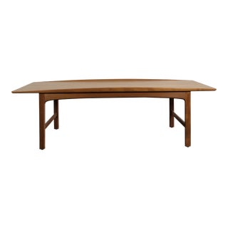 1960's Teak Frisco Surfboard Coffee Table by Folke Ohlsson For Sale