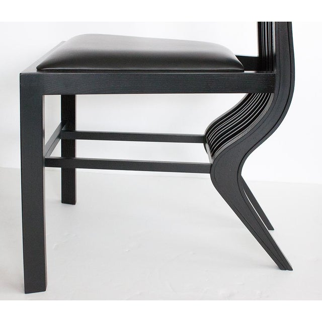 Black 1970s Arata Isozaki Marilyn Dining Chairs - Set of 6 For Sale - Image 8 of 13