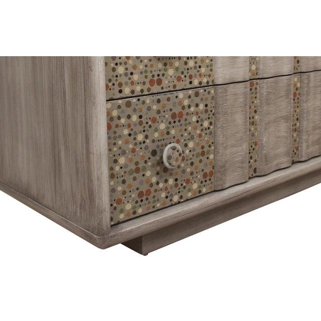 "Fabric 1960s Mid-Century Modern Kent Coffey ""Beignets"" Dresser For Sale - Image 7 of 9"