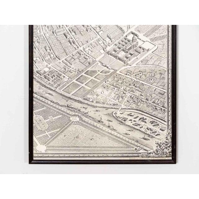 Antique Map of Paris For Sale - Image 4 of 6
