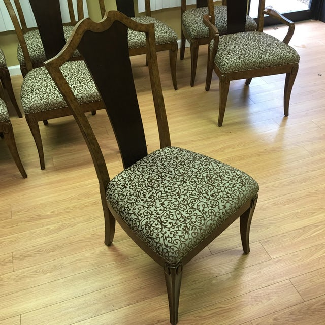 Henredon Frame Dining Chairs - Set of 8 - Image 5 of 9