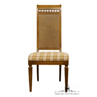 Thomasville Furniture Bellini Collection Cane Back Dining Side Chair Preview