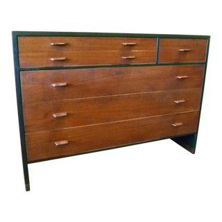 1950s Scandinavian Modern Ry Mobler for George Tanier Ebonized Oak Teak Dresser For Sale