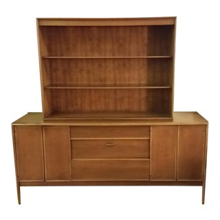 Mid-Century Modern Drexel Parallel Sideboard & Top For Sale