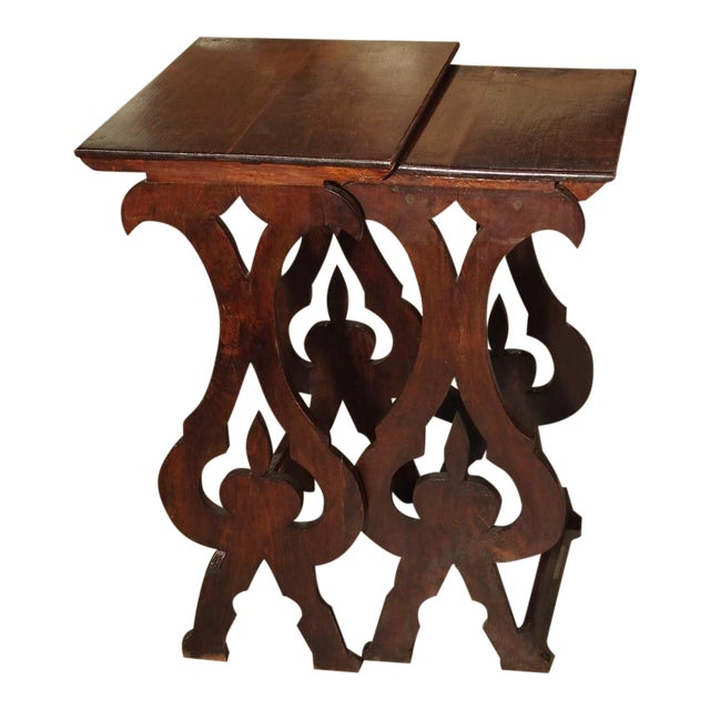 Antique Italian Nesting Tables - a Pair For Sale
