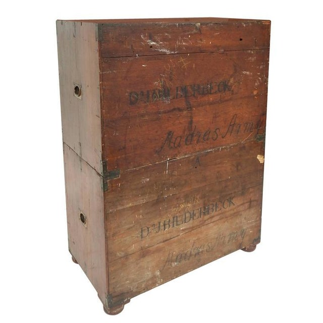 Rare Anglo-Indian Campaign Dresser - Image 5 of 10