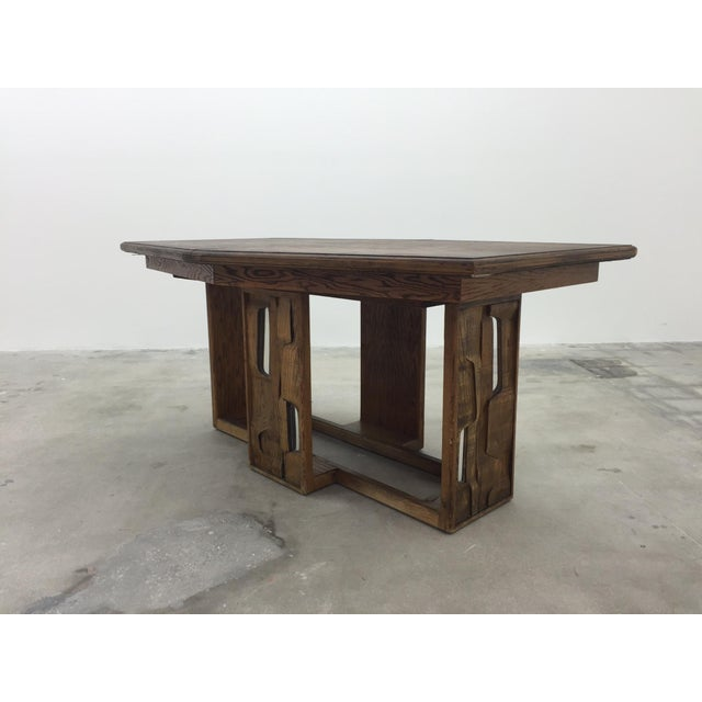 Brutalist Dining Table - Image 5 of 7