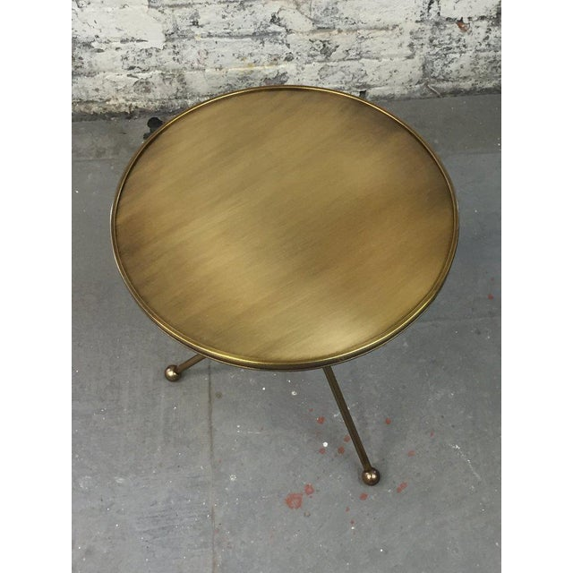 Folding Campaign Table For Sale In New York - Image 6 of 8