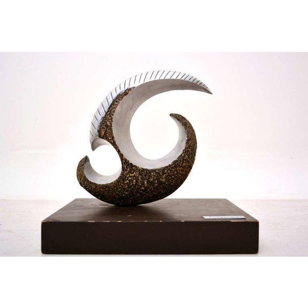 Modernist Aluminum Sculpture For Sale In San Diego - Image 6 of 10