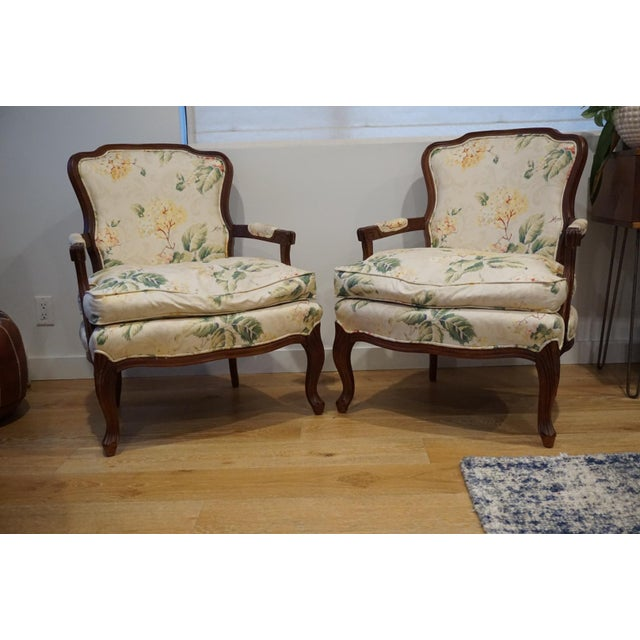 Yellow 1980s Vintage French Berger Chairs- A Pair For Sale - Image 8 of 11
