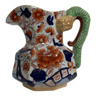 Early 19th Century Mason's Ironstone Hydra Jug For Sale