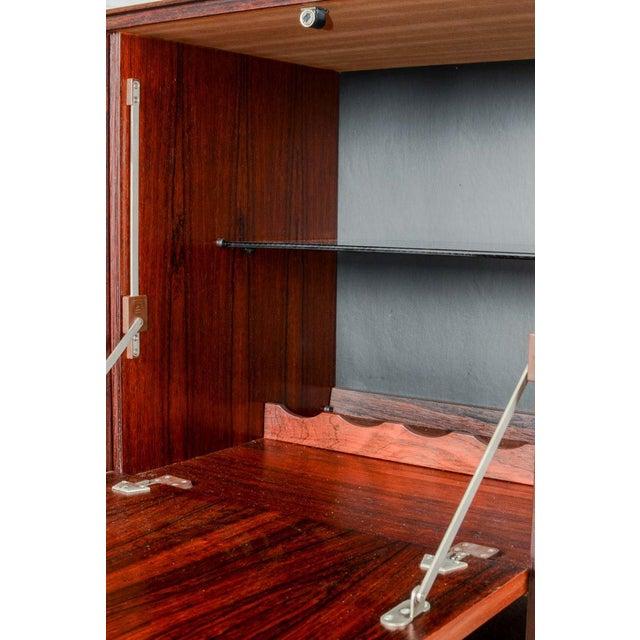 Brown Elegant Mid-Century Dutch Design Rosewood Bar Cabinet for Fristho Franeker, 1960s For Sale - Image 8 of 13