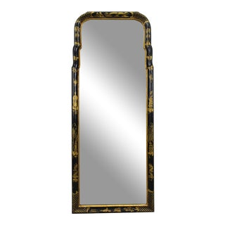 Mid-Century Asian Style Mirror For Sale