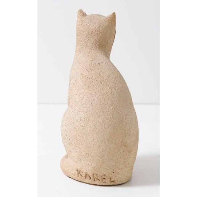 """Cat Sculpture """"Secrets of the 1970s"""" For Sale - Image 6 of 7"""